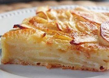 Gâteau-invisible-aux-pommes-et-poires-recette