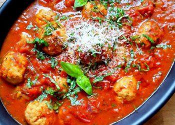 Boulettes de dinde à la sauce tomate