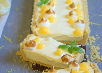 Tarte cheesecake au citron sans cuisson