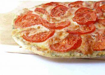 Tarte Fine Basilic, Tomates & Mozzarella