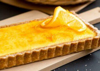 Sublissime tarte à l'orange caramélisée de Christophe Felder