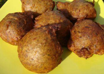 Acras de pommes de terre aux champignons