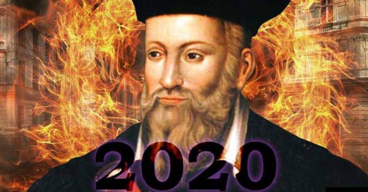 prediction nostradamus 2020