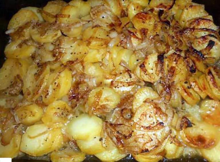 Pommes de terre boulangère