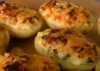 Pommes-de-terre-farcies-au-gruyère-et-au-jambon