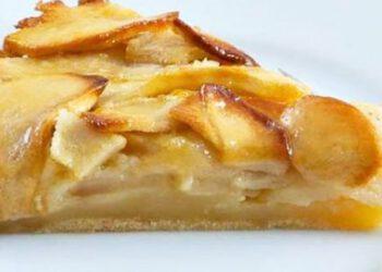 Tarte aux pommes style gâteau