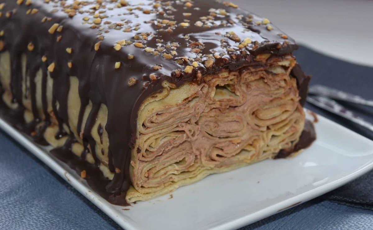 Terrine-de-crêpes-au-chocolat