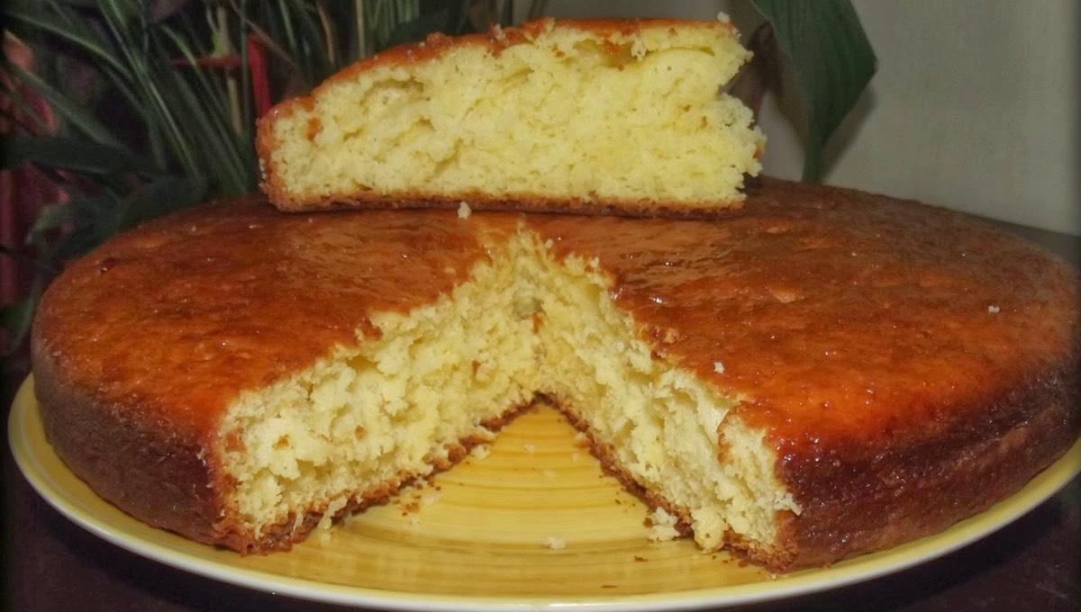 gâteau au yaourt moelleux à la clémentine