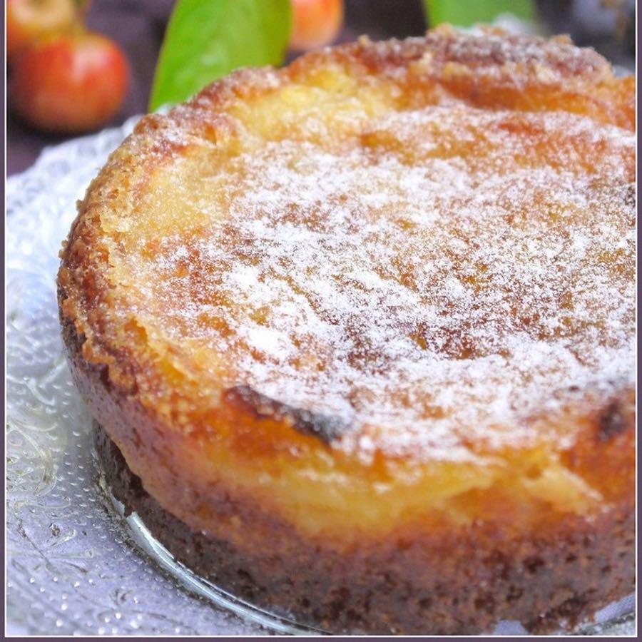gâteau aux pommes façon mamie