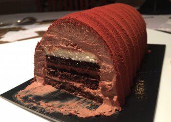 Buche Chocolat Vanille de Cyril Lignac