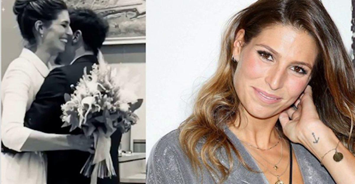 Laury Thilleman s'est mariée hier - les images de sa robe sublime