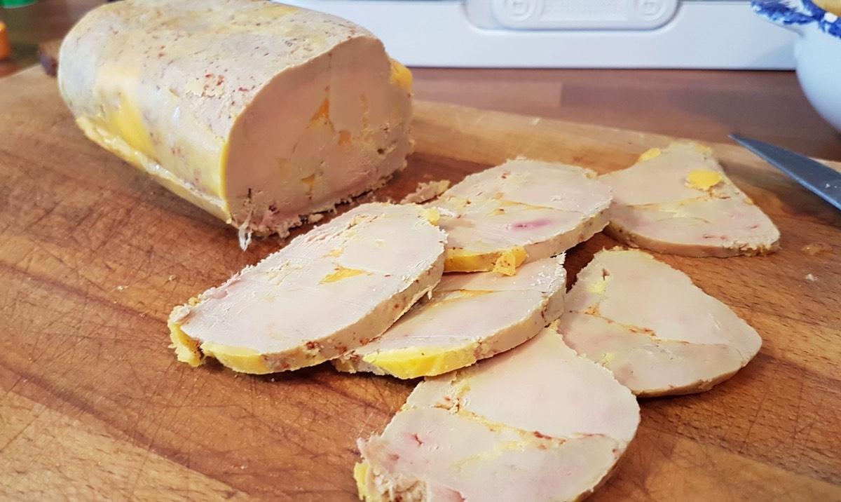 foie gras maison pour Noël
