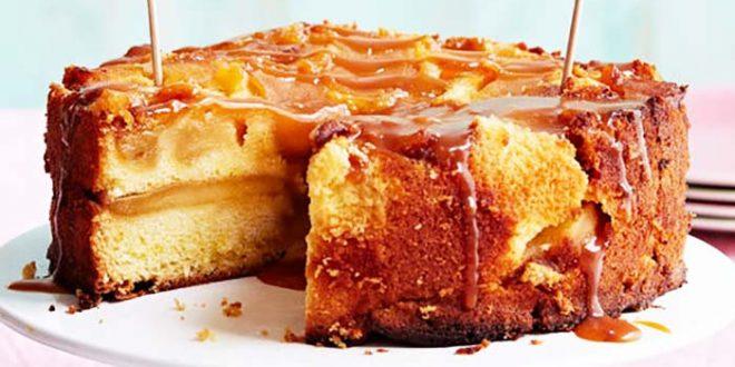 Gâteau aux pommes facile au fromage blanc