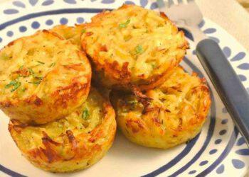 Muffins de pomme de terre