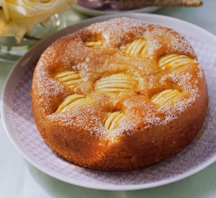 Gâteau aux pommes et citron