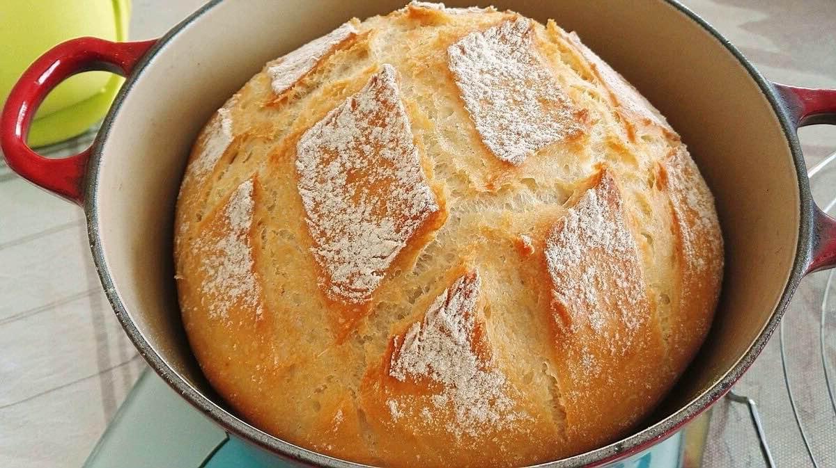 pain magique à la cocotte