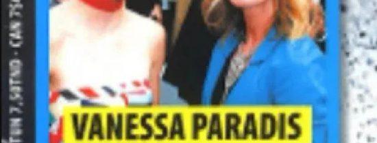 Vanessa Paradis chamboulée