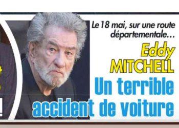 Eddy Mitchell impliqué dans un terrible accident de voiture un mort