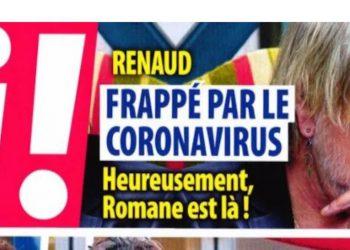Renaud touché par le coronavirus soutenu par son ex-femme