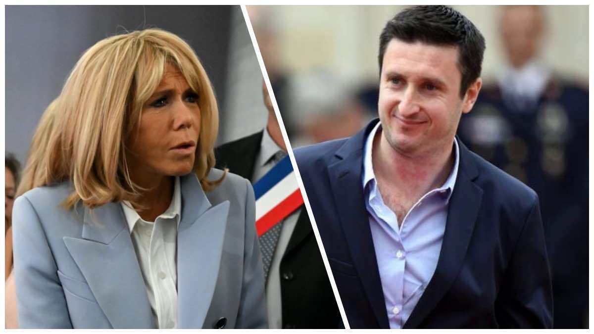 """Le gendre de Brigitte Macron Antoine Choteau """"attaqué en justice"""" pour """"insulte"""" sort ses griffes."""