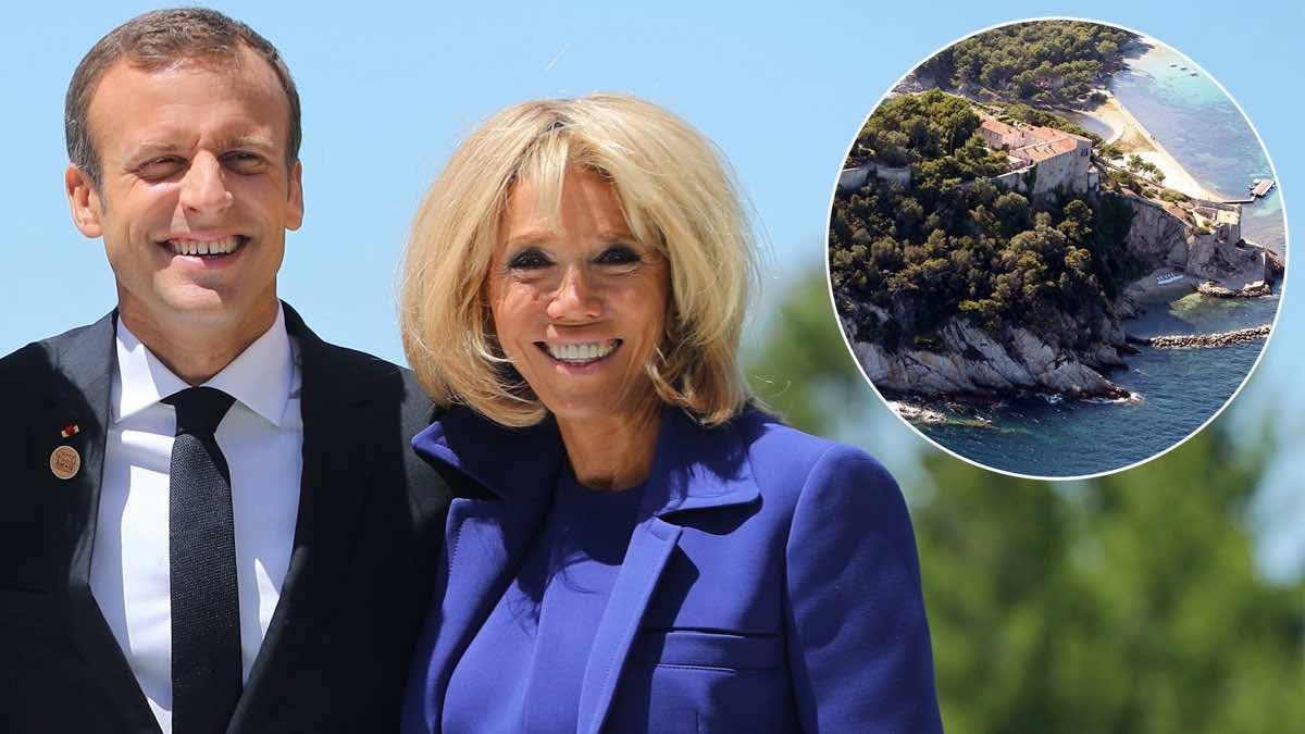 Brigitte et Emmanuel Macron bye bye les vacances au Fort de Brégançon