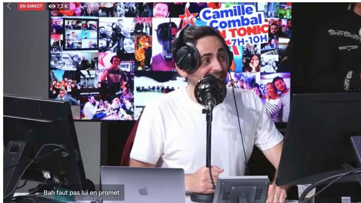 Camille Combal: à chaudes larmes il a fait ses adieux pendant sa dernière matinale
