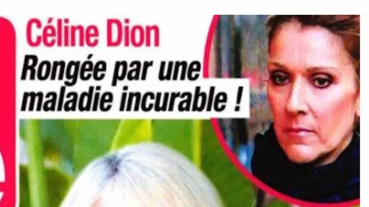 Céline Dion souffre d'une terrifiante maladie incurable