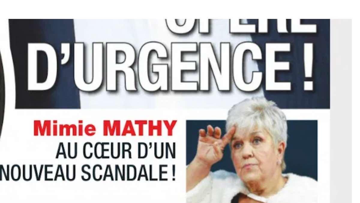 Mimie Mathy au centre d'une polémique des plus scandaleuses pour « un mot »