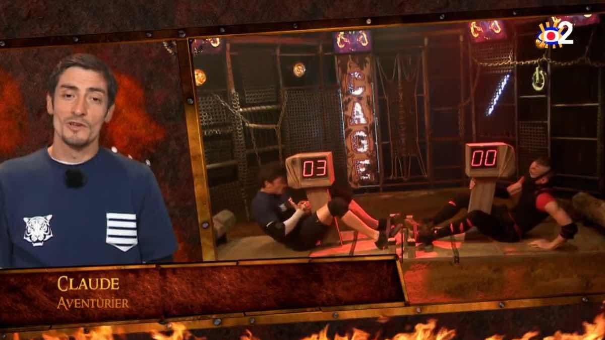 Fort Boyard : Claude (Koh-Lanta) séduit les internautes malgré un échec face à Little Boo.