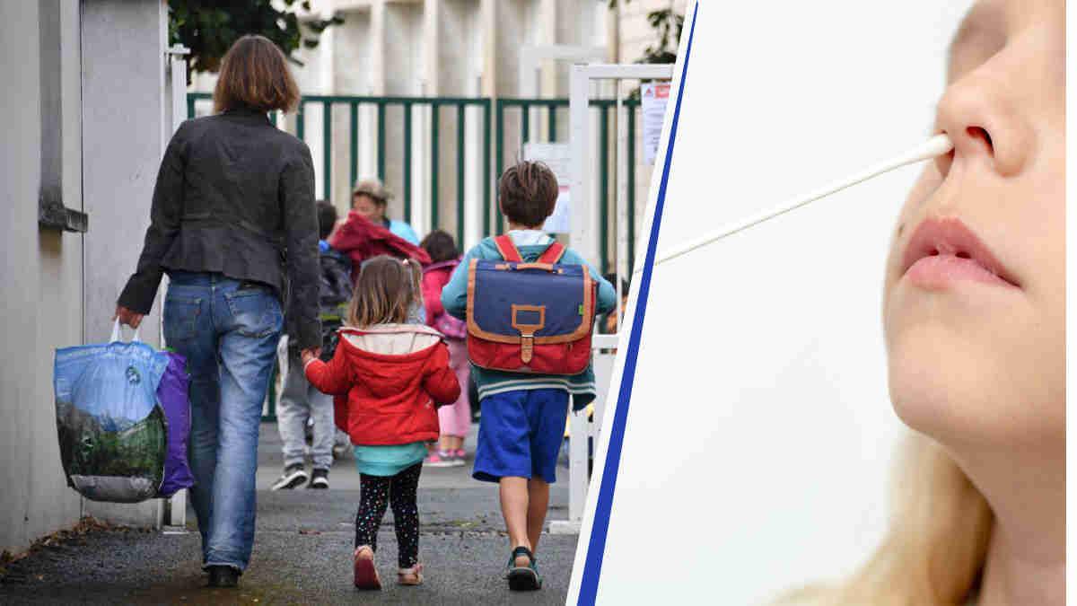 Rentrée des écoles : à cause du confinement des tests précis sont prévus pour les élèves.