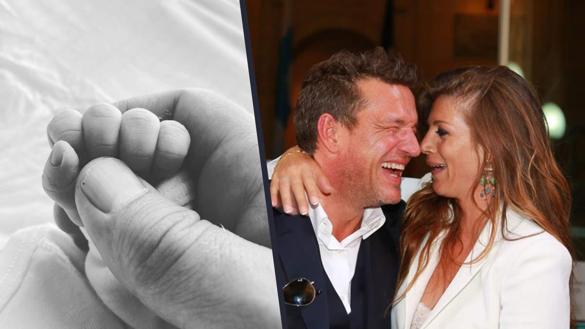 Benjamin Castaldi papa pour la quatrième fois : son épouse Aurore vient de mettre au monde leur petit garçon !
