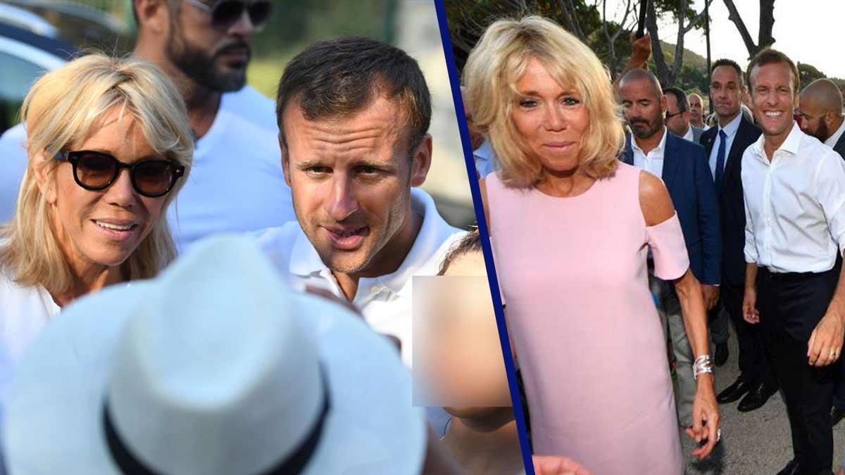 Brigitte et Emmanuel Macron à Brégançon : tout passe par la Première dame ! Elle est la boss !
