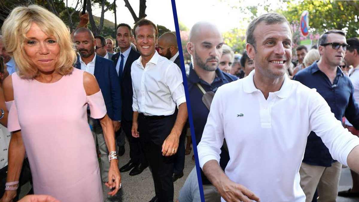 Brigitte et Emmanuel Macron terrorisent les gardes du corps insolents !