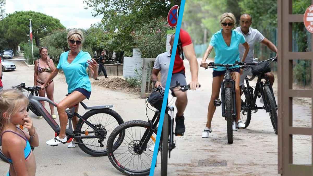 Brigitte Macron a fait le buzz sur la Toile avec son short ultra-court !