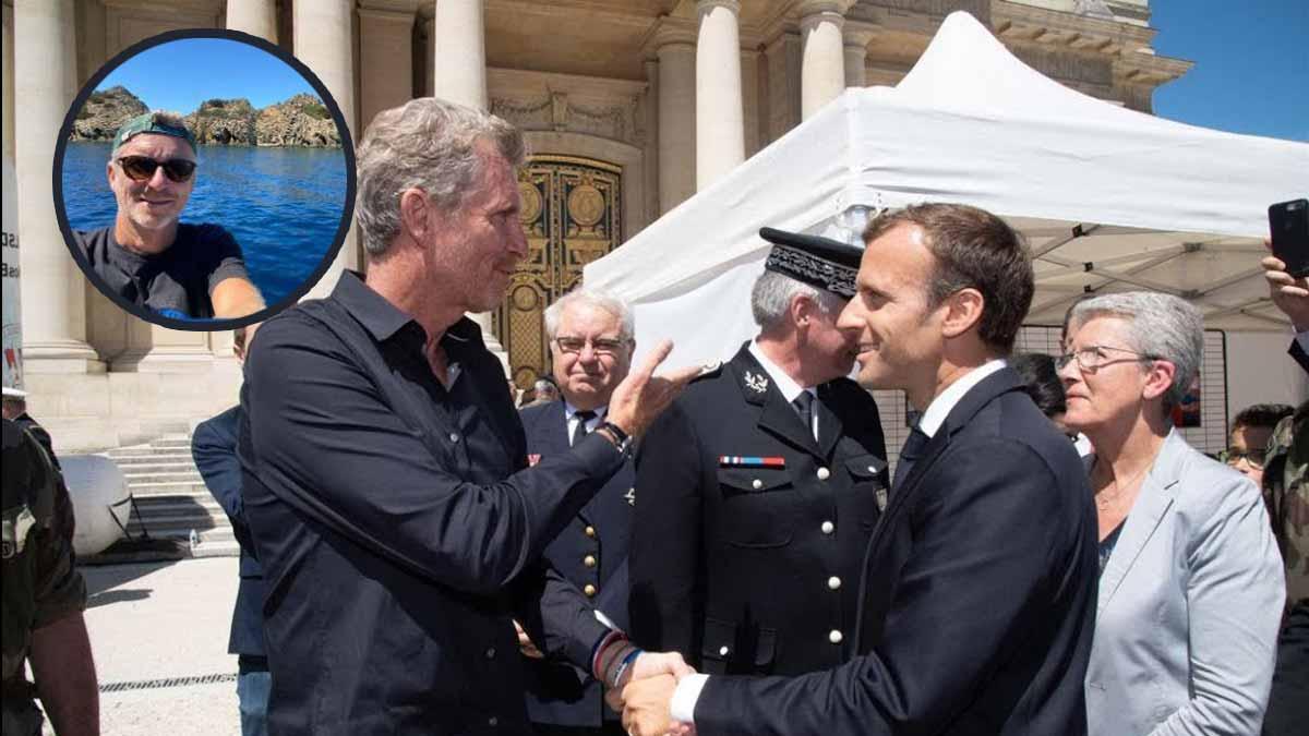 Denis Brogniart à Brégançon : ce clin d'œil amical à Emmanuel Macron !