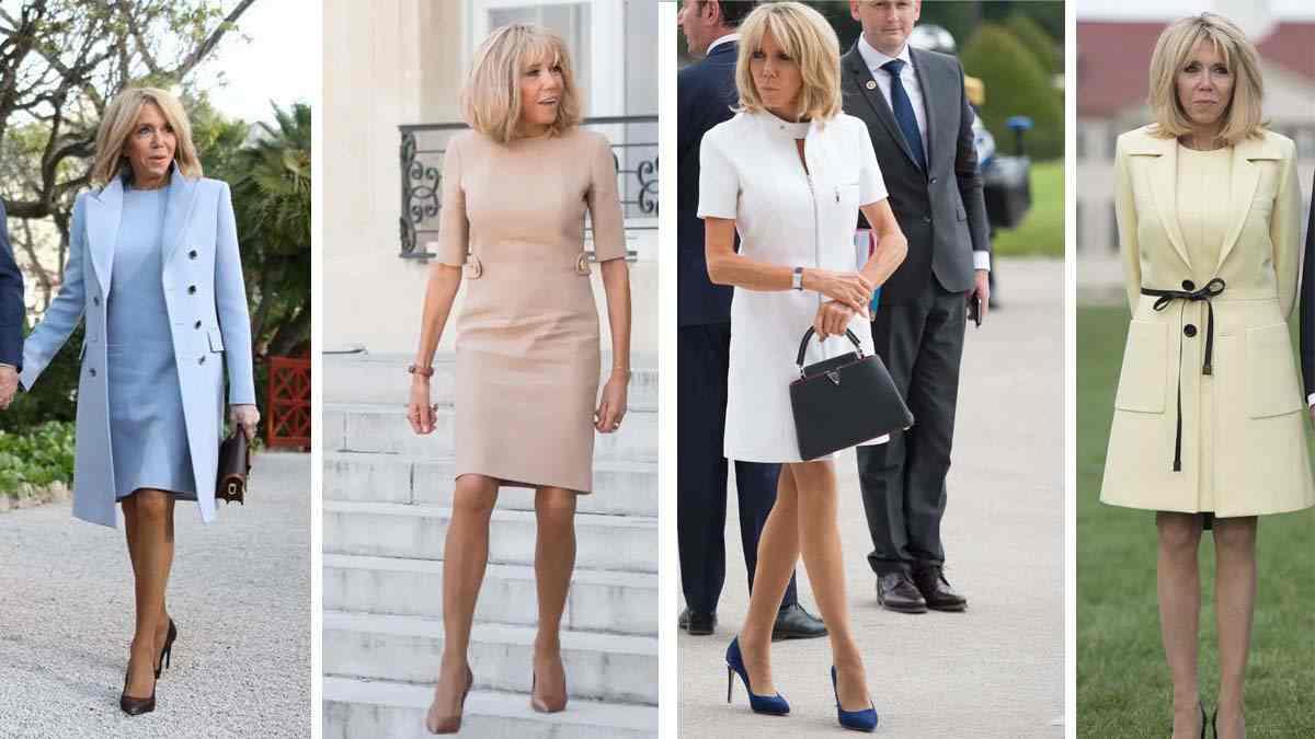 Quelques astuces mode inspirées de Brigitte Macron