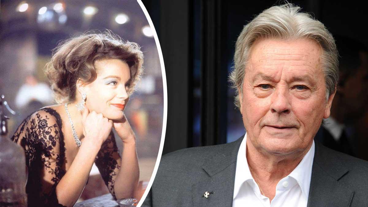 Alain Delon sort de son silence et fait une confidence inattendue sur son ex-fiancée Romy Schneider !