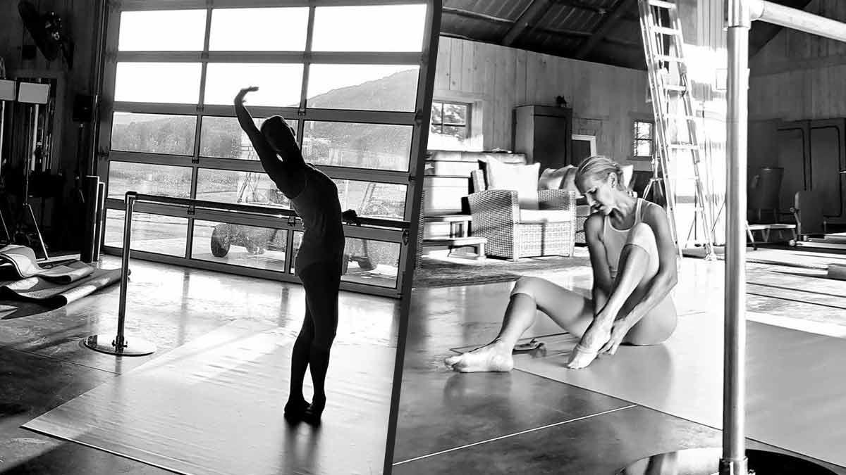 Céline Dion éblouissante en danseuse de ballet !