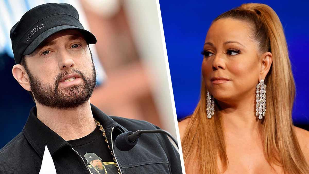 Eminem terriblement angoissé par les révélations explosives de Mariah Carey sur leur couple !