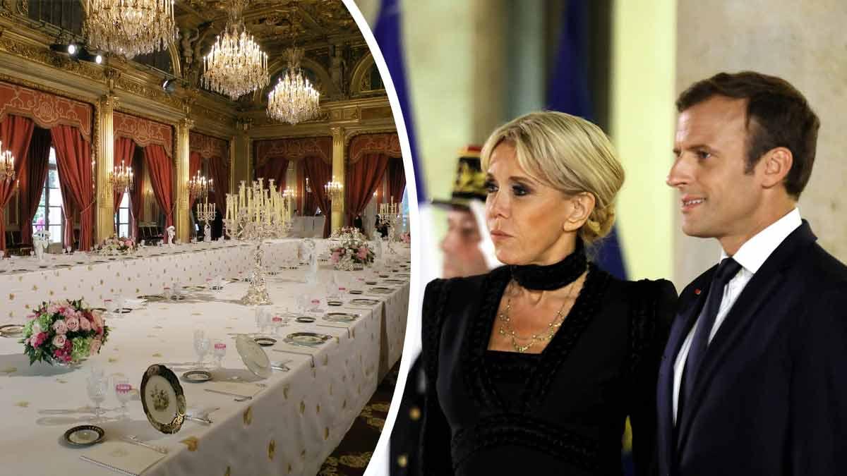 Emmanuel et Brigitte Macron : ce nouveau service de vaisselle qui a tant fait jaser !