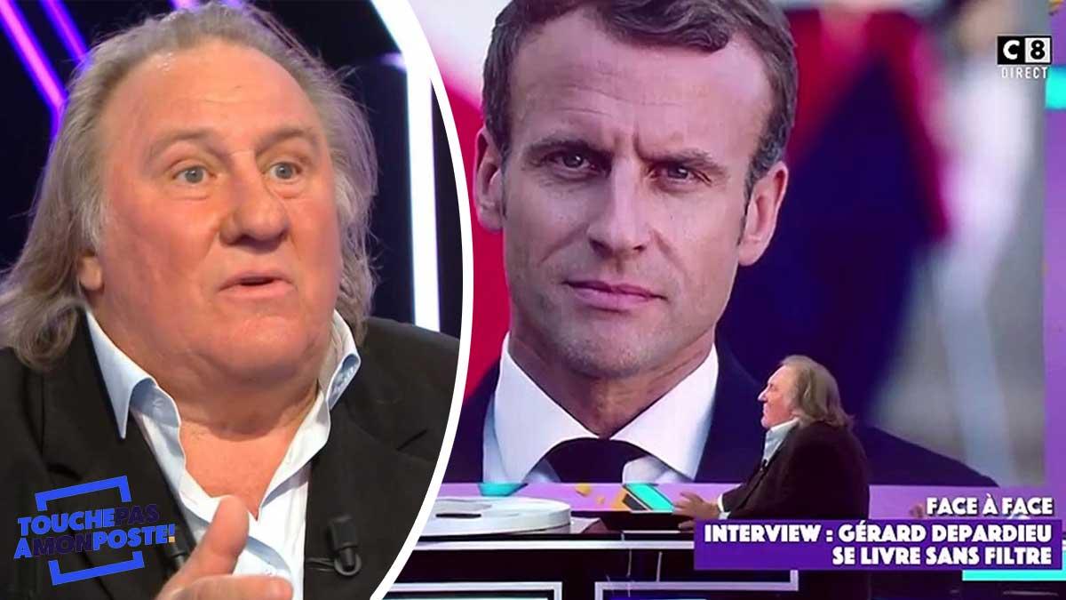 Gérard Depardieu : son étonnante sortie sur Emmanuel Macron !
