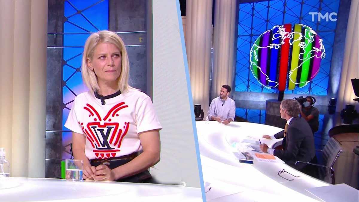 """Quotidien : Marina Foïs complètement bouleversée en apprenant que son film est passible de """"Deux ans de prison et 30 000 euros d'amende."""" !"""