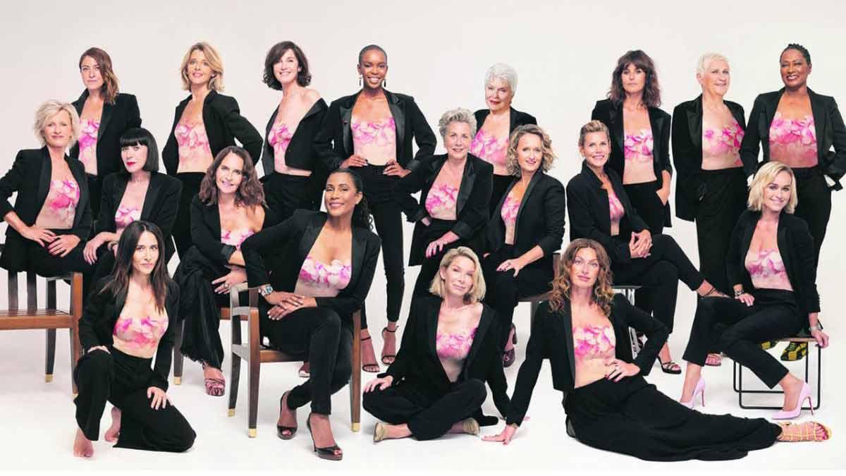 Sophie Davant Line Renaud… 19 célébrités féminines posent pour une campagne de prévention contre le cancer du sein : ce joli pied de nez au comité Miss France !