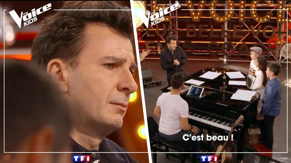 The Voice Kids : Michaël Youn craque pendant les battles !