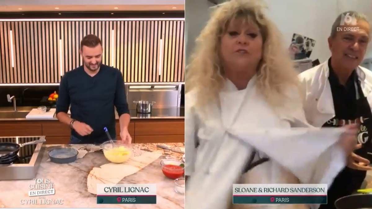 Tous en cuisine : Sloane n'a pas laissé Cyril Lignac indifférent avec sa tenue très provoc' !
