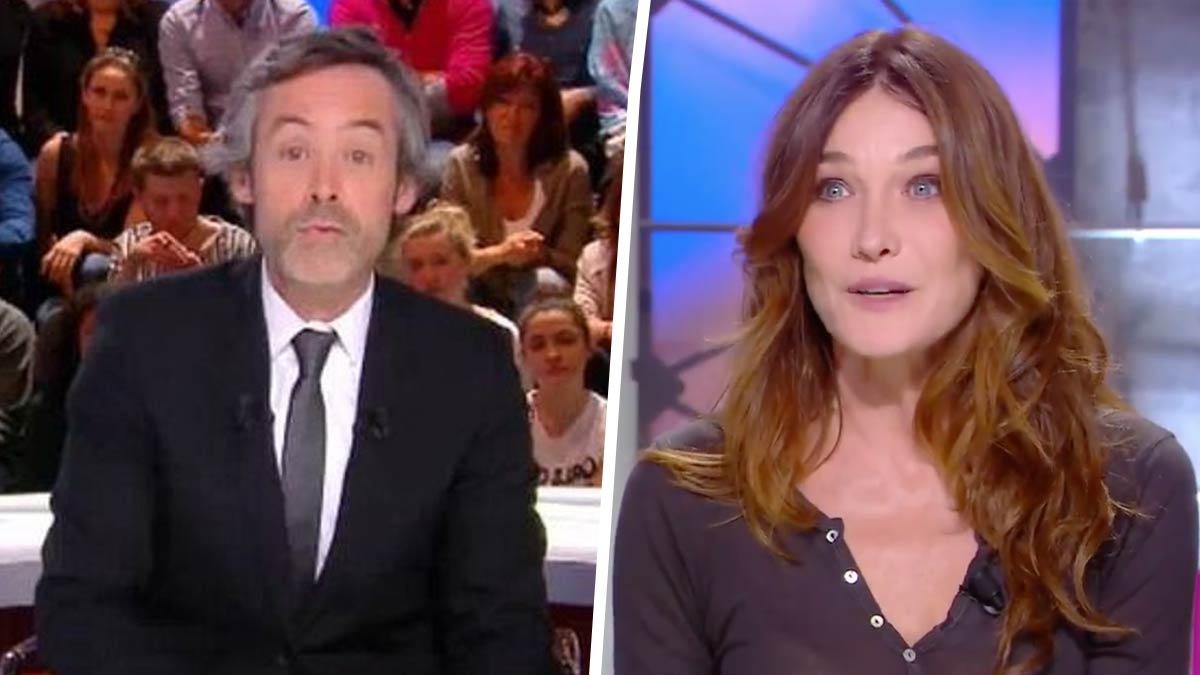 Yann Barthès (Quotidien) : le talk-show se fait complètement atomiser après le passage de Carla Bruni…