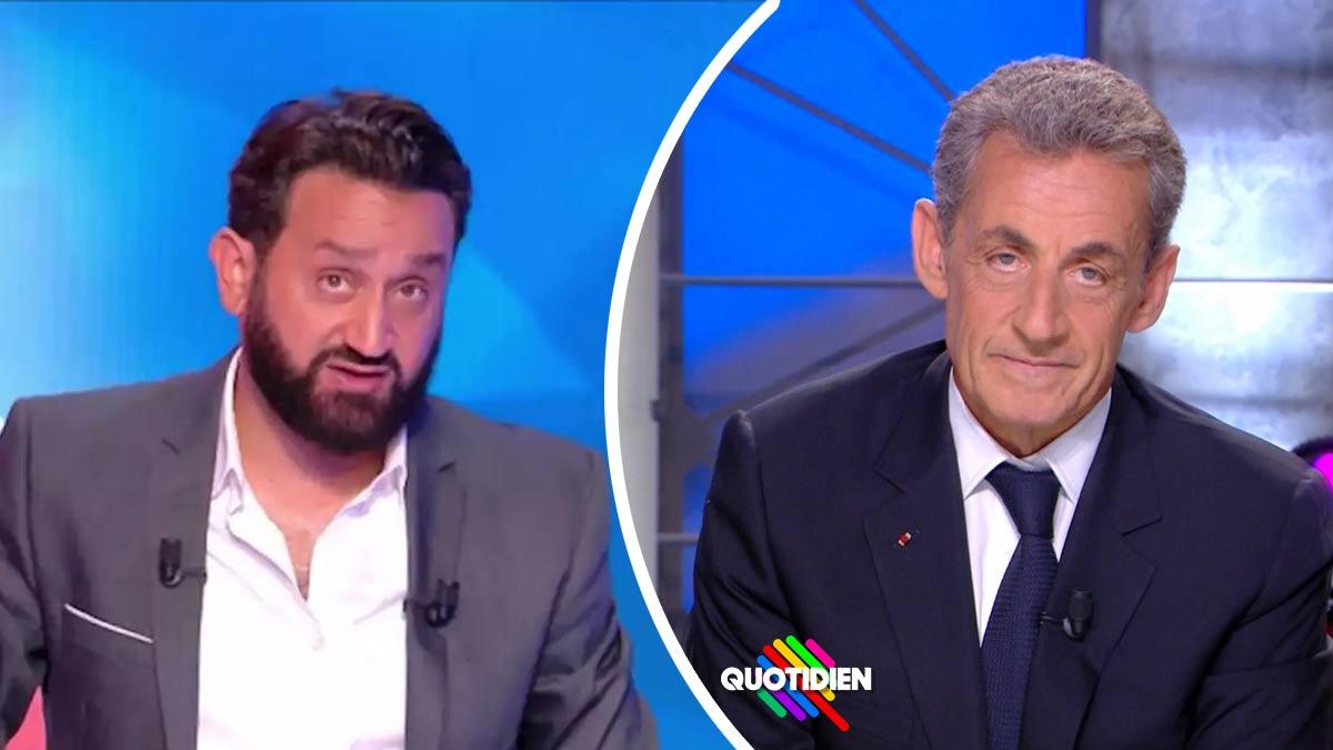 Cyril Hanouna emporté par une violente crise de nerf après le passage de Nicolas Sarkozy dans Quotidien !