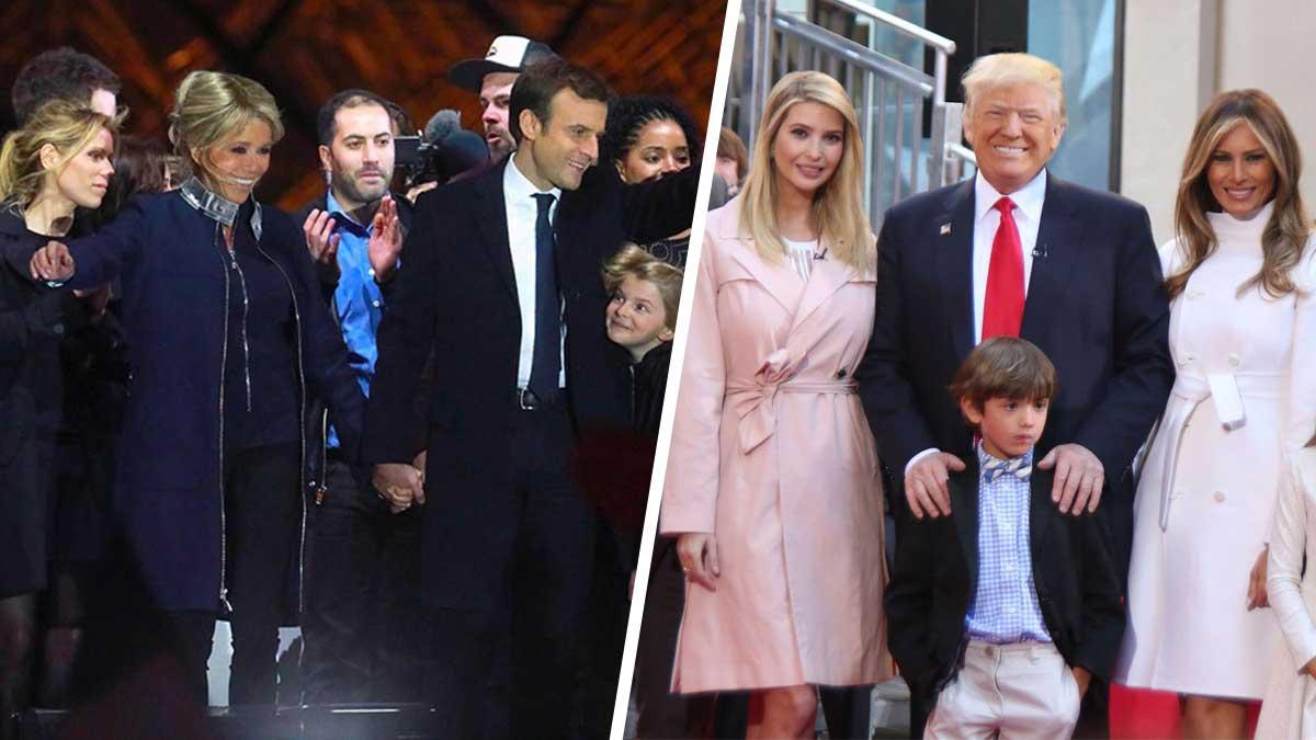 De nouveau remise sur le tapis ! Les Macron comparés à la dynastie Trump !