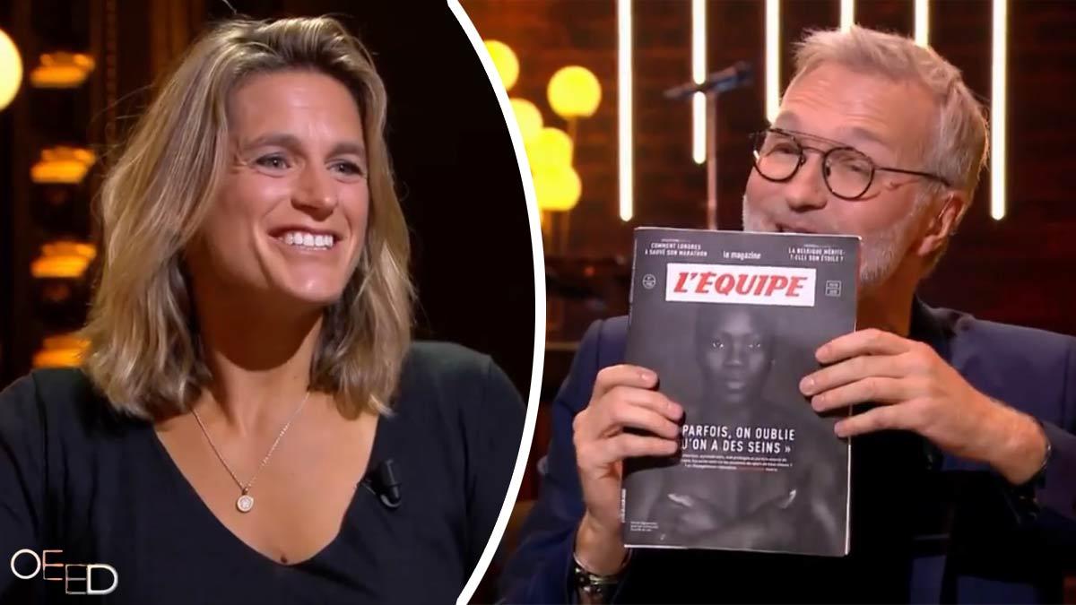 Laurent Ruquier (On est en direct) : Amélie Mauresmo mal à l'aise après le sujet brûlant portant sur sa poitrine !