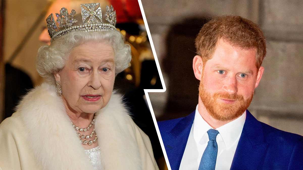 Le Prince Harry va subir les courroux de la reine Elisabeth II à son retour dans ses terres natales !